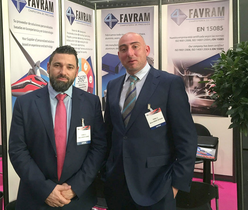 Favram asiste a Rail Industry Meetings